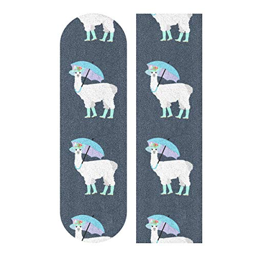 Learn More About CHXMA Tape Skateboard Sticker, Llama Under Umbrella 33.1x9.1 Skateboard Longboard...