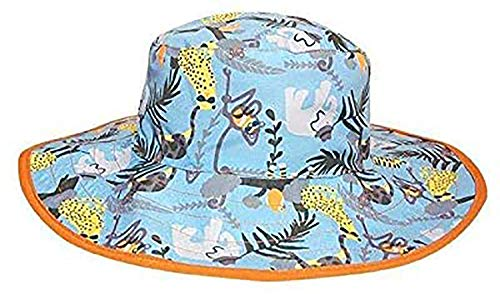 Banz Reversible Sun UPF 50+ Hrb028 Chapeau, Jungle, Large Mixte bébé