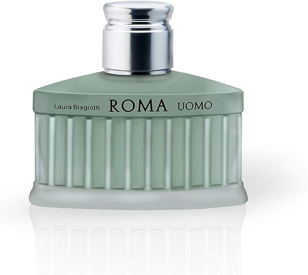 Laura biagiotti,roma uomo,eau de toilette da uomo,75 ml 673142