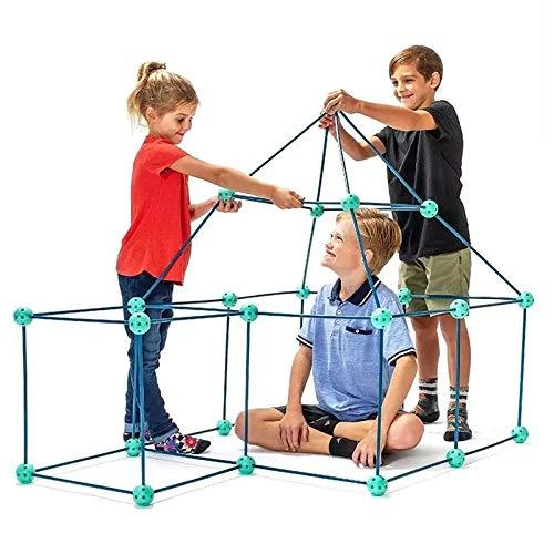 Brawdress Fort Building Kit For Kids DIY Construction Fort Building Kit Forts Builder Toy for Boys and Girls