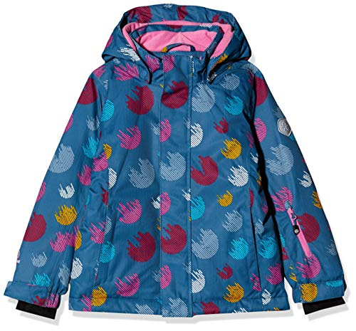 Color Kids Mädchen Padded Skijacke/Winterjacke Jacke, Rosa (Stellar 1135), (Herstellergröße: 104)