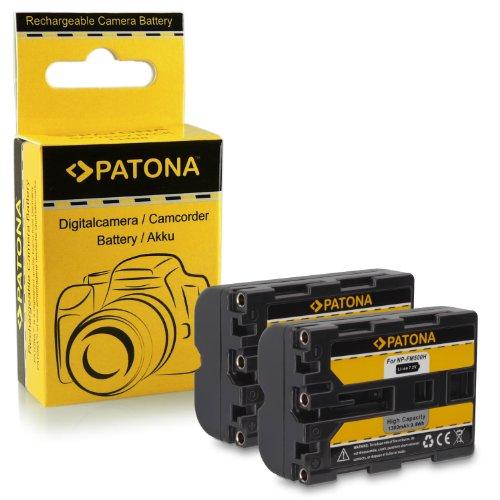 2x Batería NP-FM500H para Sony Alpha 57 SLT-A57 | 58 SLT-A58 |...