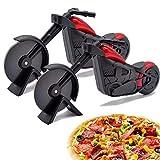 WENTS Moto Roulette à Pizza Pizza Cutter en Acier Inoxydable Pizza Roue Cutter...