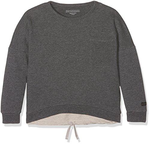 Bellybutton Kids Baby-Mädchen Sweatshirt 1/1 Arm Rock, Grau (Dark Gray Melange 8120), 92