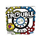 Trouble Board Game Includes Bonus Power Die and Shield, Game for Kids Ages 5 and Up, 2-4 Players (Amazon Exclusive)