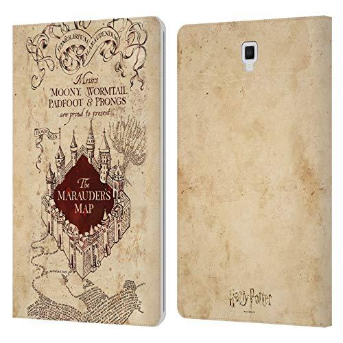 Head Case Designs Licenza Ufficiale Harry Potter The Marauder's Map Prisoner of Azkaban II Cover in Pelle a Portafoglio Compatibile con Galaxy Tab S4 10.5 (2018)