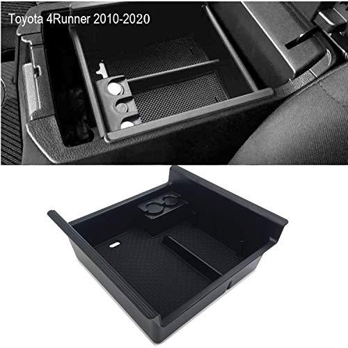 JOJOMARK for 2019 Toyota 4 Runner Accessories Center Console Organizer Tray Armrest Box Secondary Storage Fit 2020 2019 2018 2017 2016 2015 2014 2013 2012 2011 2010 4Runner