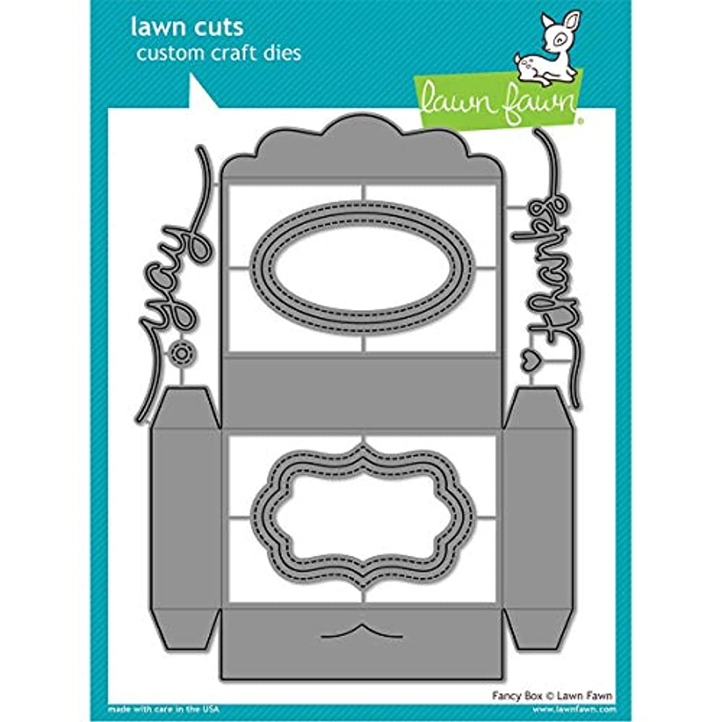 Lawn Fawn Lawn Cuts Custom Craft Die - LF1357 Fancy Box