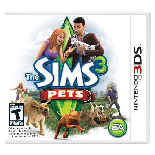 Amazon com: The Sims 3: Pets - Nintendo 3DS: Video Games