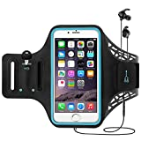 TERSELY Sports Armband for iPhone 11 Pro Max/7/8 Plus/XR/Xs, Fingerprint Gym Running Fitness