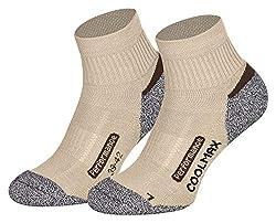 Piarini 2 pairs of Coolmax hiking socks outdoor socks