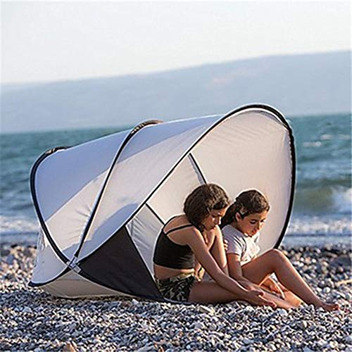 AN-JING 2 Person Beach Tent Outside Whippersnapper Rain Waterproof Wearable Camping Tent