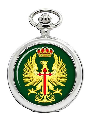 Español Ejército (Eje ́ Rcito de Tierra) Reloj de Bolsillo