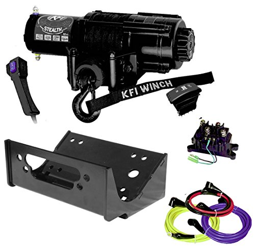Read About KFI Combo Kit - SE45-R2 4500lbs Winch & Mount Bracket - compatible with 2012-2013 Kawasak...