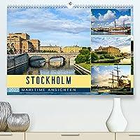 Stockholm - Maritime Ansichten (Premium, hochwertiger DIN A2 Wandkalender 2022, Kunstdruck in Hochglanz): Schwedens Hauptstadt in stimmungsvollen Bildern (Monatskalender, 14 Seiten )