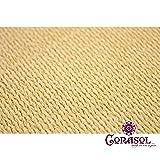 Corasol COR10RA36-SB Premium Sonnensegel 3,6 x 3,6 x 5 m, 90 Grad Dreieck, sandbeige - 5