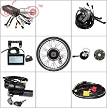 HalloMotor E-Bike Kits 36V 1200W 48V 1500W Comes with Everything Convert Bike to Electric Bike Except Battery