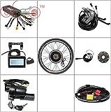 Kits de vélo électrique HalloMotor 36V 1200W 48V 1500W Livré avec tout Convertir le vélo en vélo électrique sauf la batterie