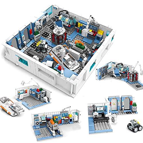 Pidepcos 1006 unids errante tierra aeroespacial laboratorio estación espacial bloques de construcción cientista cifras ladrillos juguetes niños adultos
