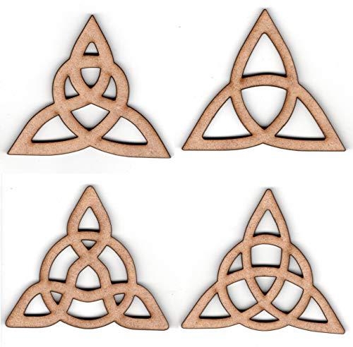 EP Laser Celtic Ornament Set Trinity Triquetra Knot (Triangle 1)
