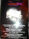 Rocketfish Bidirectional Mini Drop Amplifier (RF-G1179) Silver - New