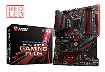 MSI MPG Z390 Gaming Plus LGA1151  Intel 8th and 9th Gen  M.2 USB 3.1 Gen 2 DDR4 HDMI DVI CFX ATX Z390 Gaming Motherboard