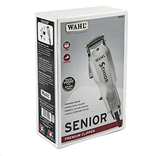 Wahl Professional Senior Clipper for Heavy Duty Cutting, Tapering, Fading and...