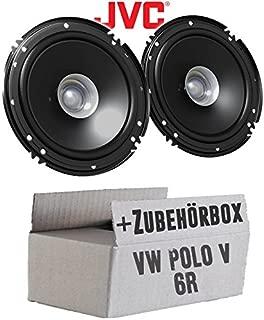 F 62C JUST SOUND best choice for caraudio Lautsprecher Boxen Helix 16cm 2-Wege System Auto Einbauzubeh/ör Einbauset f/ür VW Polo 9N 9N3 Front