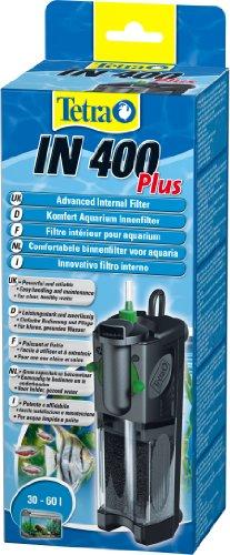 Tetra IN 400 plus  Innenfilter (zur biologischen und chemischen Filterung, stufenlose Regulierung der Durchflussgeschwindigkeit, geeignet für Aquarien mit 30 – 60 Liter) - 4