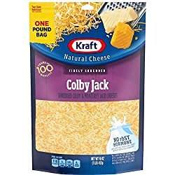 Kraft Natural Colby Jack Finely Shredded Cheese (16 oz Bag)