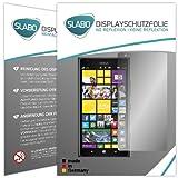 Slabo 2 x Bildschirmschutzfolie für Nokia Lumia 1520 Bildschirmschutz Schutzfolie Folie No Reflexion|Keine Reflektion MATT - Entspiegelnd MADE IN GERMANY