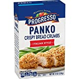 Progresso Panko Italian Style Bread Crumbs Box, 8 oz (Pack of 6)