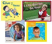 Becker's School Supplies All About Me Board Book Set [並行輸入品]
