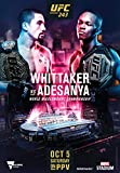 UFC 243 – Robert Whittaker VS Israel ADESANYA - Wall