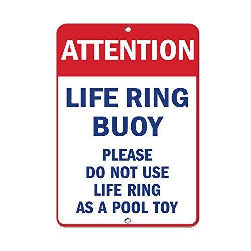 Warnschild Achtung Please