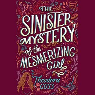 The Sinister Mystery of the Mesmerizing Girl audiobook cover art