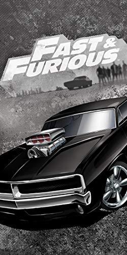 Fast & Furious - Badetuch Handtuch Strandtuch Duschtuch 70 x 140 cm
