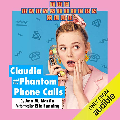 Claudia and the Phantom Phone Calls audiobook cover art