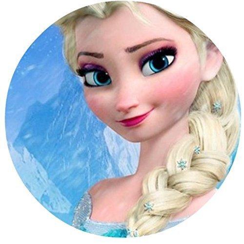 Frozen Elsa Ice Castle Princess Edible Image Photo Cake Topper Sheet Birthday Party Event - 8' Round - 74730