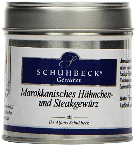 Schuhbecks Marokkanisches Hähnchen-Steakgewürz, 3er Pack (3 x 50 g)