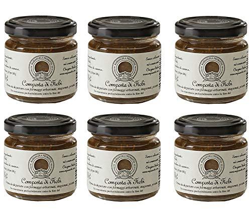 Azienda Agricola Prunotto Mariangela - 6 vasetti Composta di Fichi 110 gr