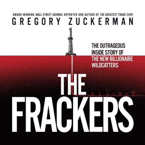The Frackers audiobook cover art