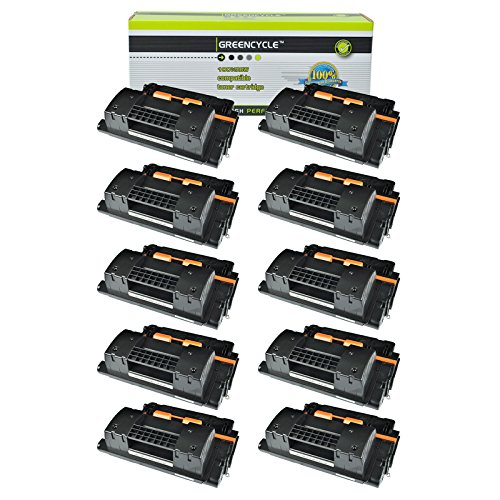 GREENCYCLE High Yield CC364X 64X Toner Cartridge Replacement Compatible for HP Laserjet P4015 P4015n P4015tn P4515 P4515n P4515dn P4515tn P4515x P4515xm Series Printers (Black, 10 Pack)