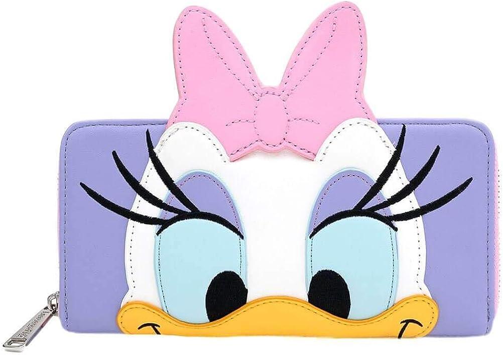 National uniform free Popularity shipping Loungefly x Disney Daisy Zip-Around Wallet Duck Cosplay