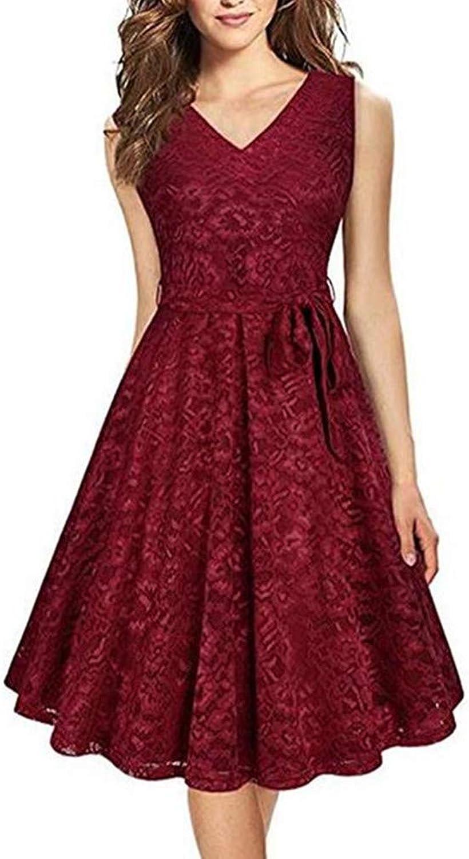 Aiyue Yishen V Neck Sleeveless Knee Length Ruffles Junior Homecoming Dress