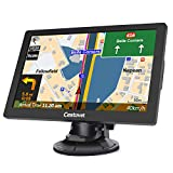 GPS Navigation for Car, Big Touchscreen Trucking GPS 8GB SAT NAV System Navigator Turn by Turn Directions Navigation System for Cars Free North America Map Updata Contains USA, Canada, Mexico