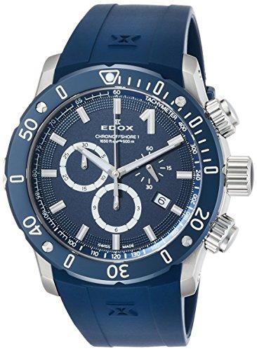 [エドックス] 腕時計 10221-3BU3-BUIN3 メンズ 正規輸入品 ブルー