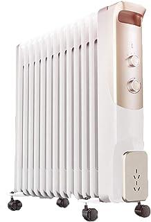 WGJ Dispone De 3 Ajustes De Potencia Radiador De Aceite De ,Bajo Consumo,13 Elementos,2200W,Control Termostático De Temperatura,Protección contra Sobrecalentamiento,Apagado Automático