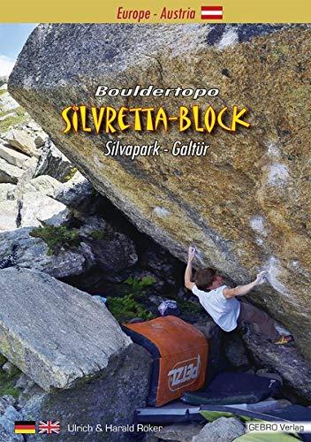 Silvretta-Block: Bouldertopo Silvapark-Galtür