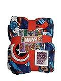 Licensed Primark Manta de forro polar de Marvel Avengers, 120 cm x 150 cm